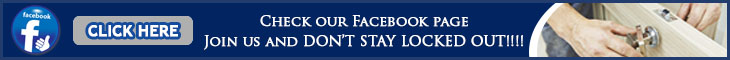 Join us on Facebook - Locksmith West University Place