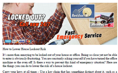How to Lower House Lockout Risk in University Place - Click to download