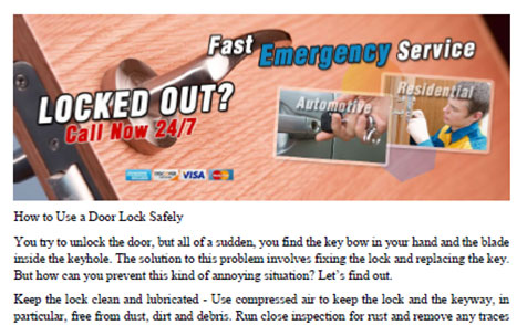 How to Use a Door Lock Safely in University Place - Click to download